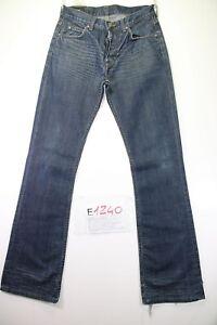 Lee denver Bootcut (Code E1240) Tg45 W31 L36 Jeans Utilisé Taille Haute Vintage