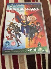 DC Comics Justice League Crisis On Two Earths DVD 2 Discs