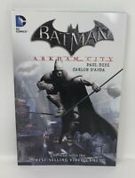 Batman ARKHAM CITY Paul Dine Carlos D'Anda DC TPB Graphic Novel