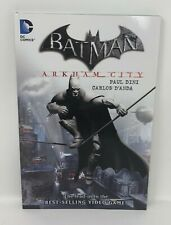 Batman ARKHAM CITY Paul Dine Carlos D'Anda DC TPB Graphic Novel
