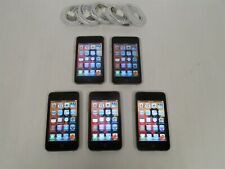 Lot of 5 Apple iPod touch (3rd Gen) 32Gb Mp3 Players A1318 Bundle ~ Reset