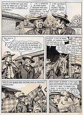 BOB DAN LE CHIEN MEXICAIN PLANCHE ORIGINALE BILL TORNADE ARTIMA PAGE 3