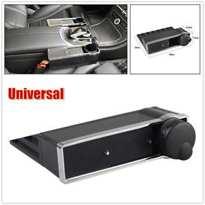1×Car Seat Gap Organizer Driver Pocket Storage Armrest Box Cup Holder Universal
