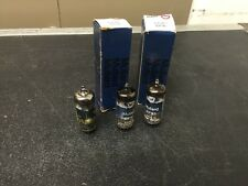 3 Vintage NOS Mullard EF91 6AM6 CV4014 Vacuum Tubes Guaranteed! No Reserve!
