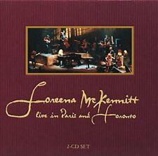 Loreena Mckennitt - LIVE IN PARIS and TORONTO [CD]