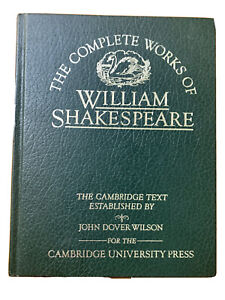 The Complete Works Of William Shakespeare Cambridge Text