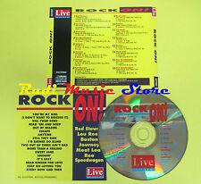 CD ROCK ON!compilation 1992 STEWART LOU REED BOSTON JOURNEY (C1)no lp mc dvd vhs