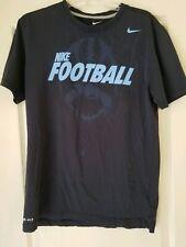 Nike Men's Dri-Fit Graphic Football T-Shirt Sz. Medium M Blue