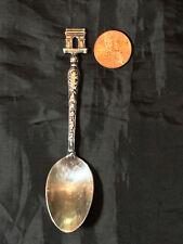 Vintage 1964 Paris Arc de Triomphe Silverplate Souvenir Demitasse Spoon - Jm