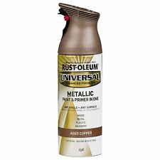 Rust-Oleum Universal METALLIC PAINT + PRIMER in One Spray AGED COPPER, 312g