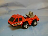 VINTAGE 1988 HOT WHEELS WORKHORSES FIRE ENGINE UNIT 31 FIRE TRUCK LORRY  RED TOY