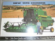 John Deere 1170 Combine brochure Jan 1997