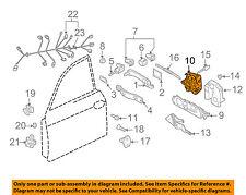 VW VOLKSWAGEN OEM 04-08 Touareg Front Door-Lock Actuator Motor 3D1837015AE
