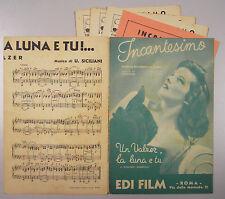 Spartito Valzer INCANTESIMO LUNA E TE Ford 1939 Katherine Hepburn Musica