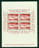 Brazil Scott #C86A MNH S/S Santos-Dumont's 1906 Plane AVIATION CV$17+