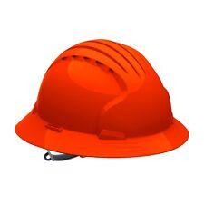 JSP Full Brim Hard Hat with 6 Point Slip Ratchet Suspension, Orange
