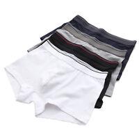 Men's underwear Boxer Briefs 4 Pack Cotton Stretch Soft underwear for Men