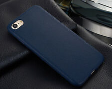 "Ultra Thin TPU Leather Soft Phone Case Back Cover for iPhone X 10 5.8"" 8 7 6s 5s"