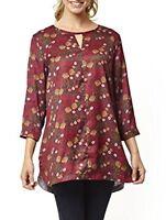 BNWT Ladies Designer 'Ness' Floral Dress Summer Modern UK Size 14 RRP £34.99