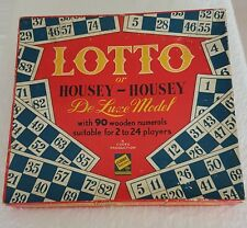 A Vintage CODEG Productions LOTTO Or HOUSEY HOUSEY De Luxe Model