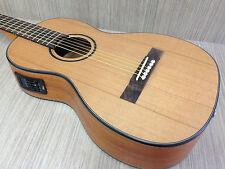 Caraya parlor-610 Electric-Acoustic Guitar,Natural Matt Free gig bag,String Set