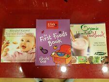 Annabel Karmel, Ella's Kitchen, Organique Bébé Et Bambin Cook Book