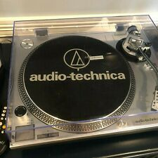 Audio-Technica AT-LP120-USB Direct-Drive Analog and USB Turntable (Silver)