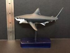 Colorata ( Like Kaiyodo ) Great White Shark Pvc Fish Figure Retired Model