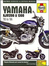 Haynes Hard Cover YAMAHA XJR1200 1300 1995 - 2006 Repair Workshop Manual