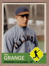 Red Grange '23 University of Illinois Illini baseball MC Diamond Collection #11