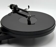 Black Acrylic Turntable Platter Mat. fits PRO-JECT. IMPROVE LOOKS & SOUND!