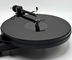 Black Acrylic Turntable Platter Mat. Fits PRO-JECT and Rega Record Players