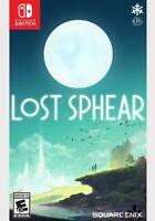 Lost Sphear - Nintendo Switch * New Sealed Game * US USA NTSC Offical Release