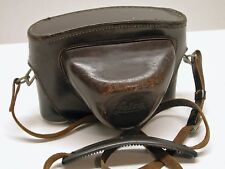 LEICA ORIGINAL LEATHER EVEREADY CAMERA CASE..FITS EARLY M MOUNT BODIES..LC2