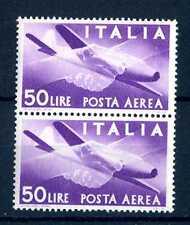 """ITALIA REP. - PA - 1947 - Serie """"Democratica"""" - Filigr. Ruota  - 50 L. - X112"""