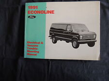 Ford Econoline 1991 Wiring diagram Electrical manual Werkstatthandbuch