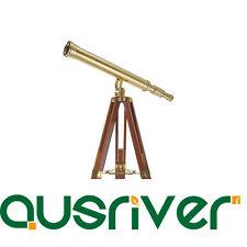 Celestron Ambassador Series 50 AZ Brass Telescope Refractor Christmas Gift 21033