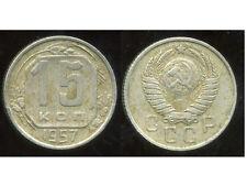 RUSSIE   15  kopek   1957   ( bis )