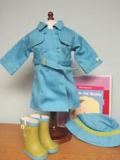 NEW American Girl Raincoat & Boots Set-Retired/NIB