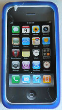 Blue Ultra-Protective Case For IPhone 4 NEW