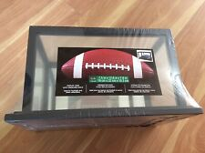 DISPLAY CASE WITH MIRRORED BACK FOR FOOTBALL & OTHER COLLECTIBLES