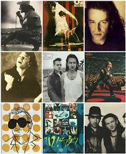 88 U2 Bono The Edge Rattle Hum Magazine Prints Ads Advertisements 1980s-90s Lot