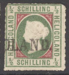 Helgoland Mi. Nr. 1I gest. geprüft Schulz BPP 1.300 Euro