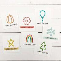 Stanzschablone Stern Schnee Hochzeit Weihnachts Oster Geburstag Karte Album DIY
