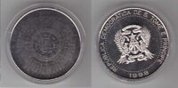 SAINT THOMAS AND PRINCE - 2000 DOBRAS COIN 1998 YEAR KM#86a MILLENNIUM