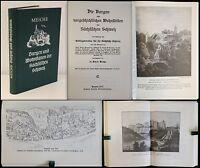 Meiche - Burgen und Wohnstätten der Sächsischen Schweiz - Reprint 1979 - xz