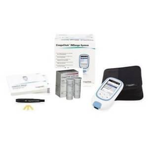 **NEWEST UPDATED MODEL** Roche CoaguChek XS PT/INR Meter Monitor Testing Kit
