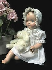 """Madame Alexander 18""""  composition Baby Doll, 1930's - 40's - Totally Restored"""