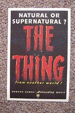 The Thing Lobby Card Movie Poster Howard Hawks
