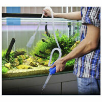 Aquarium Clean Vacuum Water Change Siphon Gravel Cleaner Fish Tank Pump Filter#
